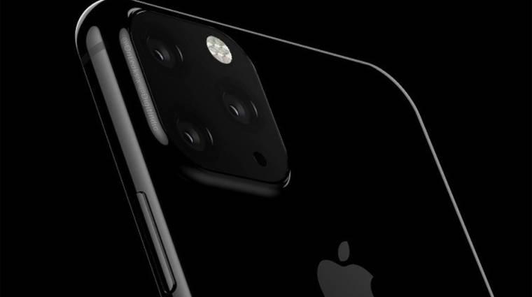 Ezt tudjuk eddig a 2019-es iPhone-okról kép