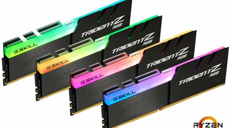 AMD X399 platformhoz készültek az új G.Skill RAM-ok kép