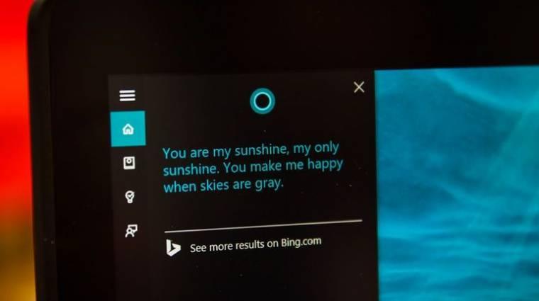 PC-re szakosodhat a Cortana asszisztens kép