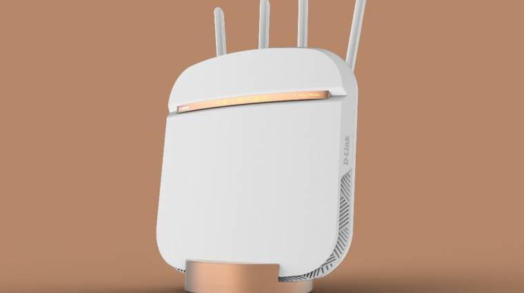 5G-s routerrel frissít a D-Link kép