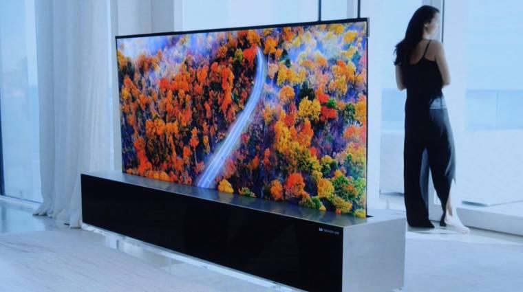 Idén már megveheted az LG feltekerhető tévéjét kép