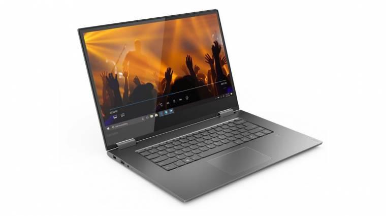 A Lenovónak is van AMOLED-kijelzős laptopja kép