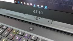 Gépi tanulással optimalizálja magát a Gigabyte Aero 15 laptop kép