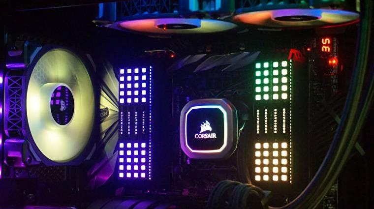 Az RGB LED-es piacon is nagyot villant a Corsair kép