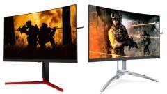 Gamerekre szabták az AOC legújabb prémium monitorait kép