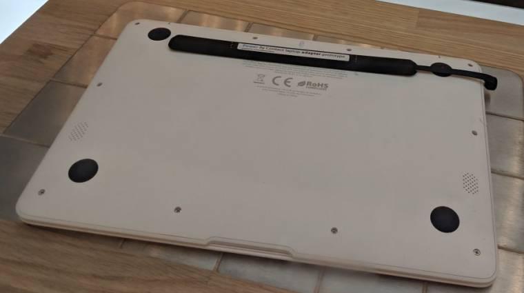 Itt az univerzális vezeték nélküli töltő laptopokhoz kép
