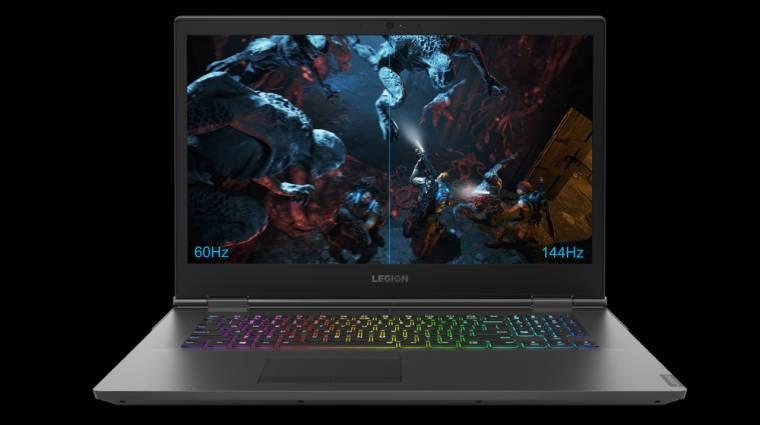 Új Lenovo Legion laptopok és perifériák játékosoknak kép
