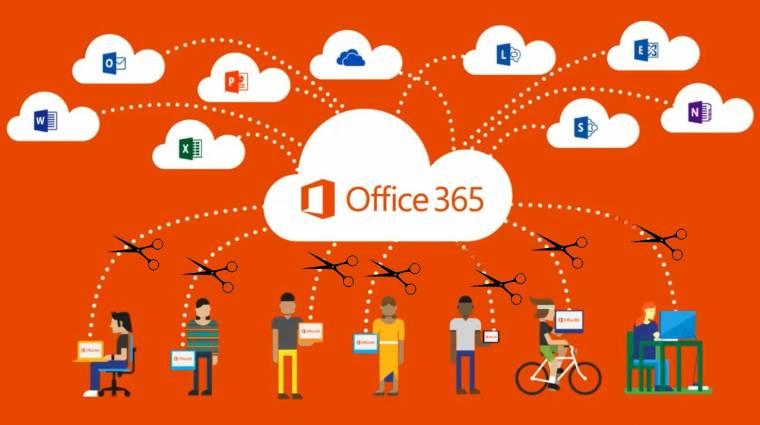 Egy napja áll az Office 365 az egész világon kép
