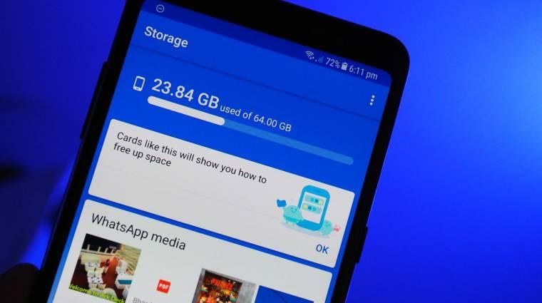 Így rejts el fájlokat és mappákat Androidon kép