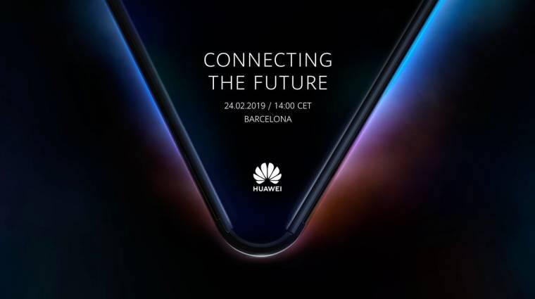 Megvan, hogy mikor jöhet a hajlékony Huawei mobil kép