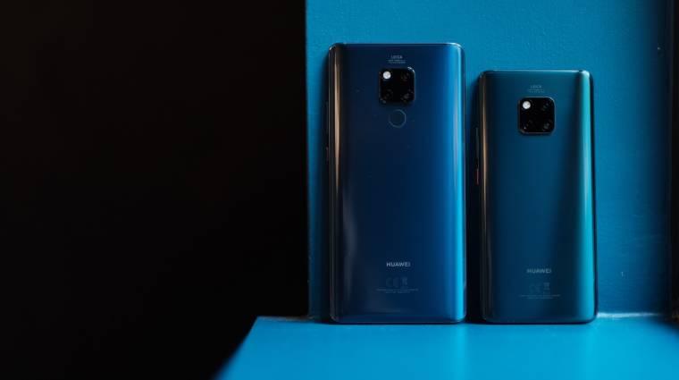 Jön az 5G-s Huawei Mate 20 X kép