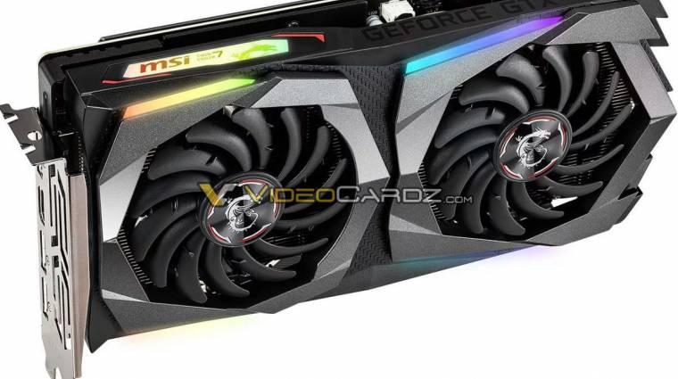 Képeken az MSI GeForce GTX 1660 Ti kártyái kép