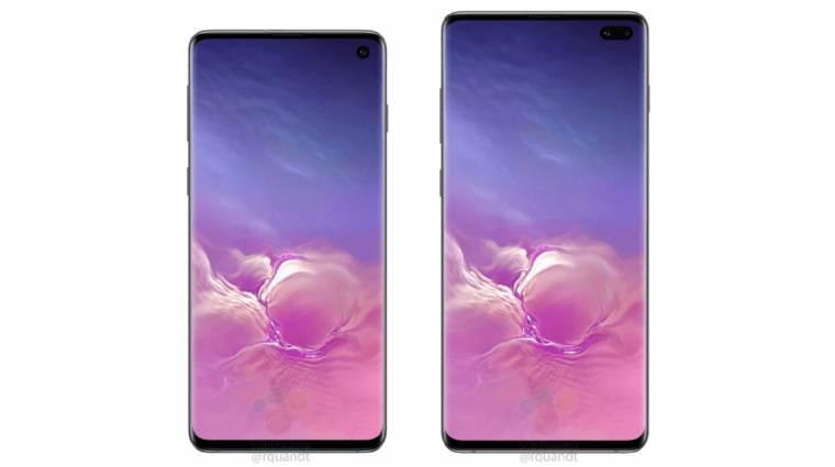 Özönlenek a képek a Samsung Galaxy S10 mobilokról kép