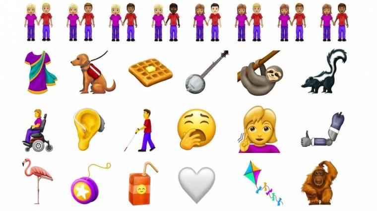 Ezek az emojik dobják fel a mindennapjaidat 2019-ben kép