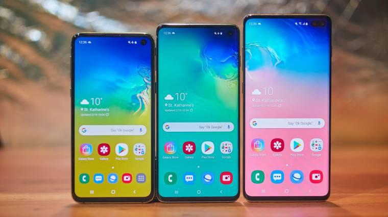 Fontos frissítést kapott a Samsung Galaxy S10+ kép