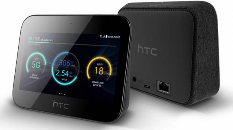 Hotspot, akkumulátor és szórakoztató eszköz egyben az HTC 5G Hub kép