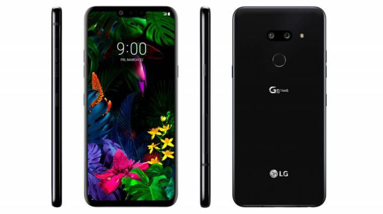 Csúcsminőségű hang jön az LG G8 ThinQ kijelzőjéből kép