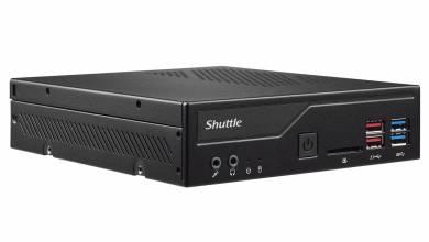Nagy erő fér a Shuttle legújabb mini PC-jébe