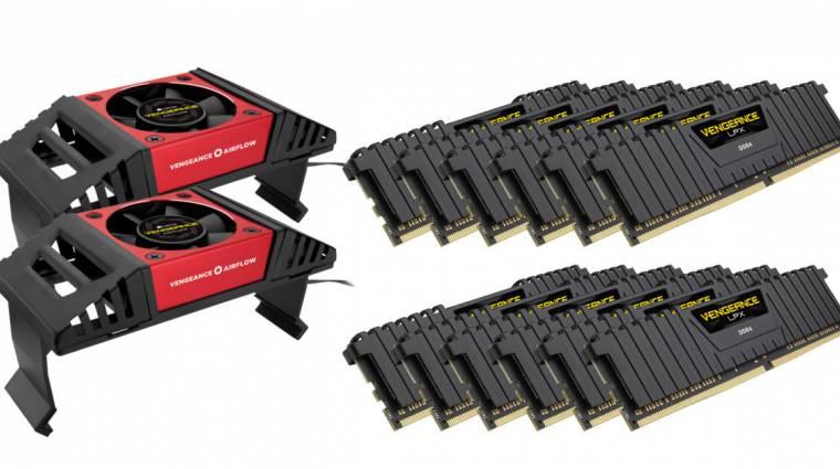 Nem játék a Corsair 192 GB-os memóriacsomagja kép