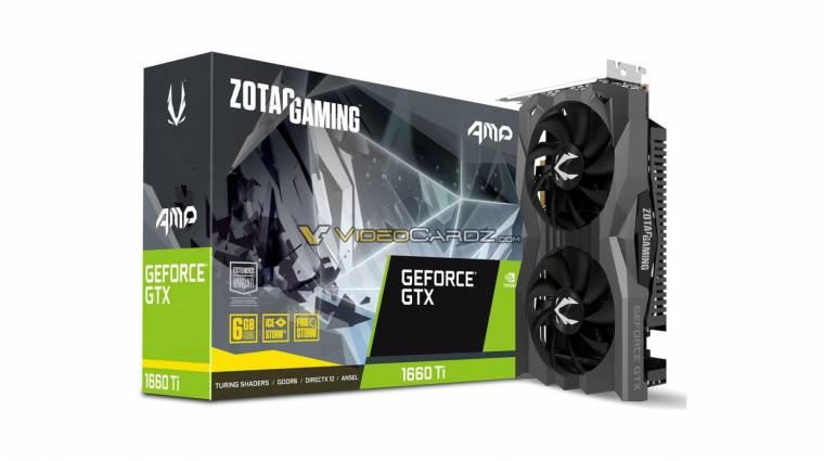 Kiszivárogtak a ZOTAC GeForce GTX 1660 Ti kártyái kép