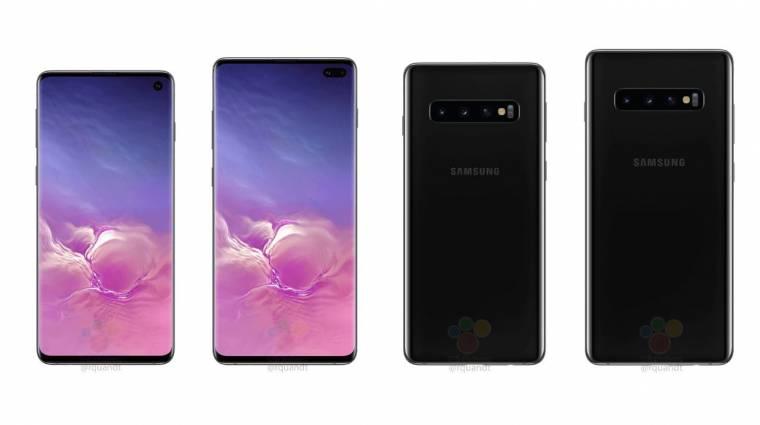 A Galaxy S10 vezeték nélkül tölti fel az új Samsung fülhallgatót kép