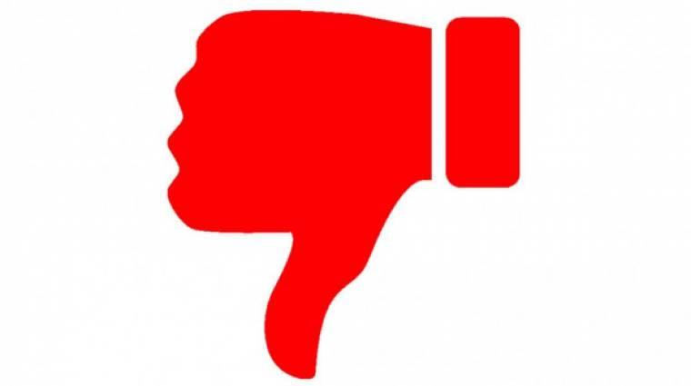 Eltűnhet a YouTube-ról a dislike gomb kép