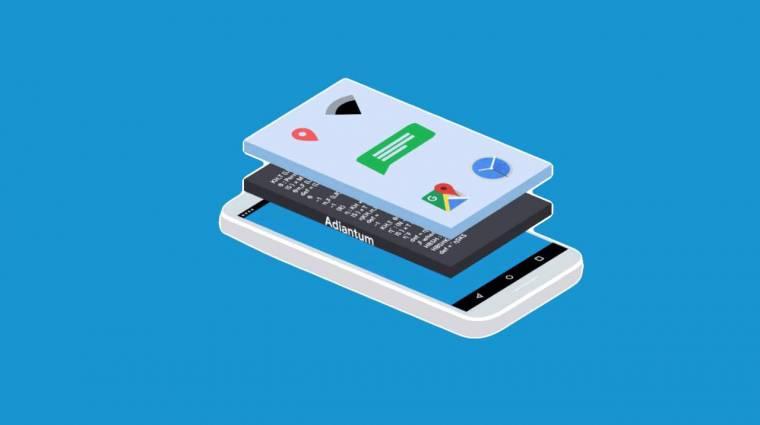 Az olcsó mobilokat is titkosítja a Google kép