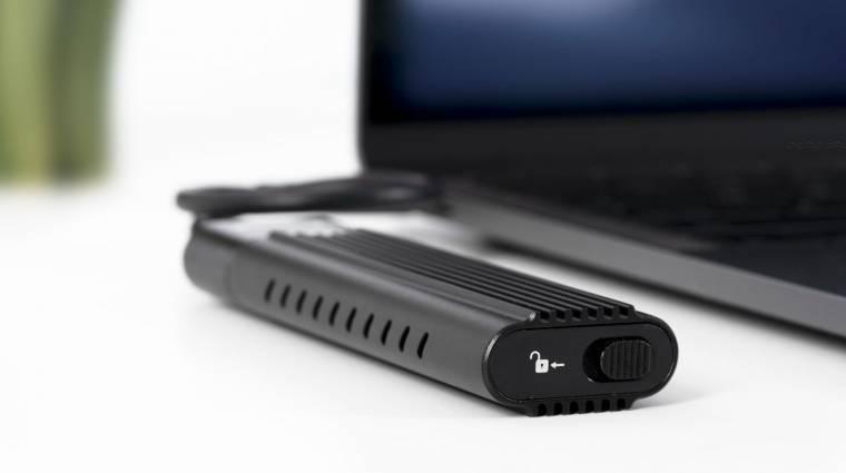 Már NVMe SSD-hez is vehetsz külső házat kép