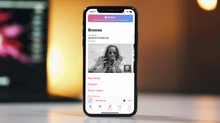 Extra ingyen hónappal kedveskedik az Apple Music kép