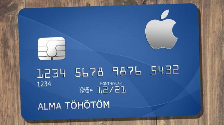 Érkezik az Apple saját hitelkártyája kép