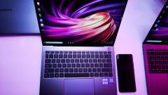 Új laptopokkal jelentkezett a Huawei kép