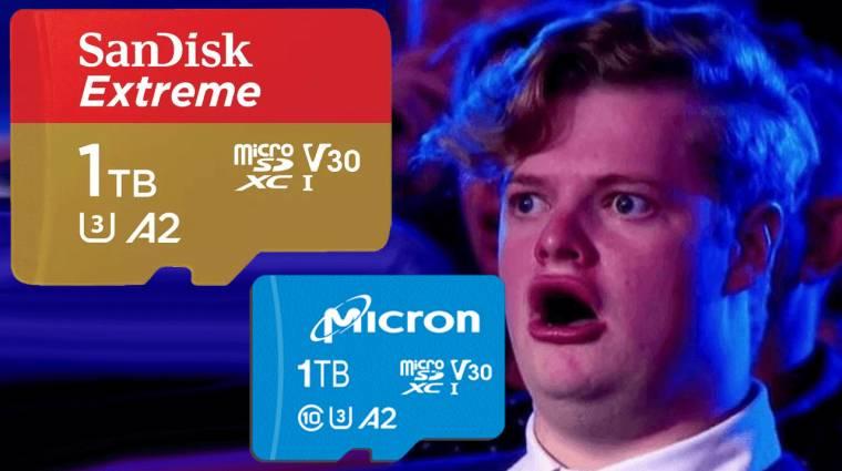 Megérkeztek az 1 terabájtos microSD kártyák kép