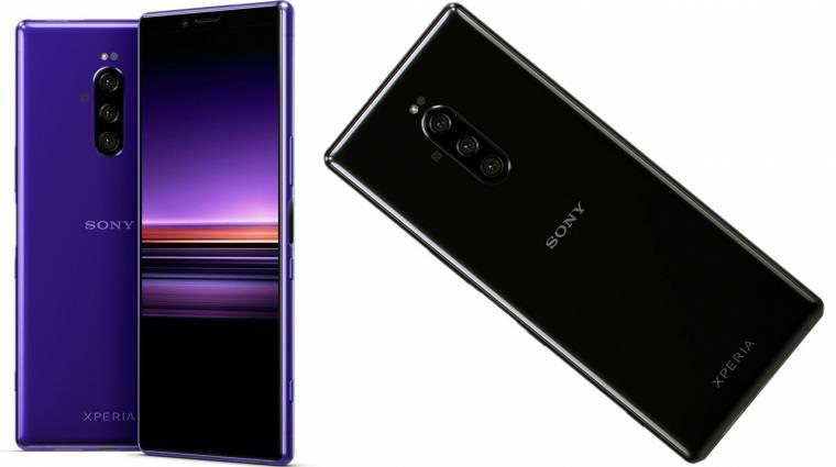 A Sony Xperia 1 szó szerint kilóg a sorból kép