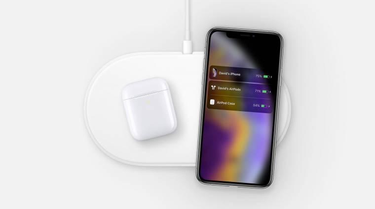 Kukába került az Apple AirPower vezeték nélküli töltőpad kép