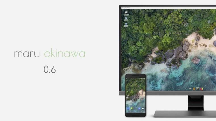 Ügyes trükköt tud a Maru OS operációs rendszer kép