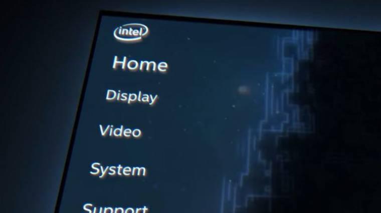 Gamerbarát vezérlőpulttal újít az Intel grafikus részlege kép