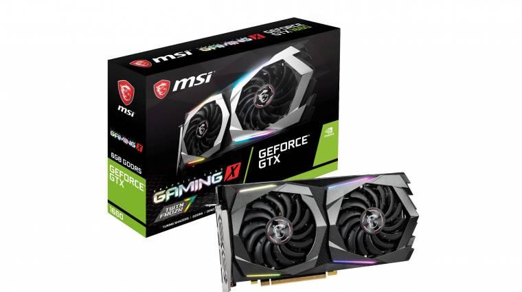 Elstartolt a GeForce GTX 1660 kép
