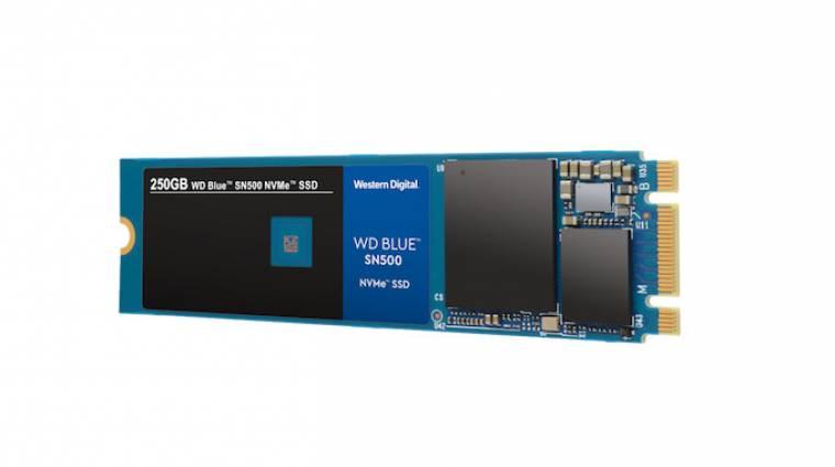 NVMe SSD-vel újított a WD Blue szériája kép