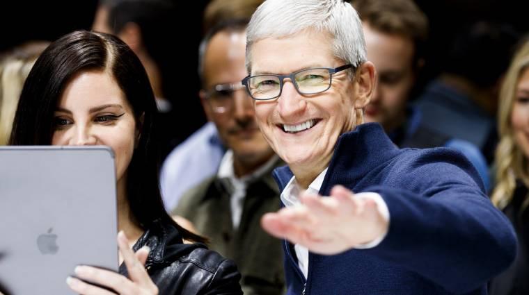 Lenyűgöző újdonságokat ígér az Apple ügyvezetője kép