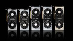 Sok pénzt hoznak az NVIDIA Turing-alapú videokártyái kép