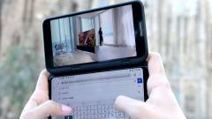 Széthúzható okostelefonon dolgozhat az LG kép