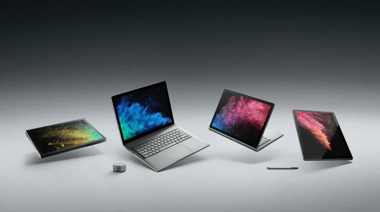 Erősítheti a Microsoft a hibrid laptopját kép