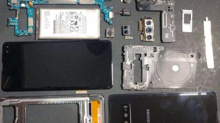 Így néz ki a Samsung Galaxy S10+ belülről kép
