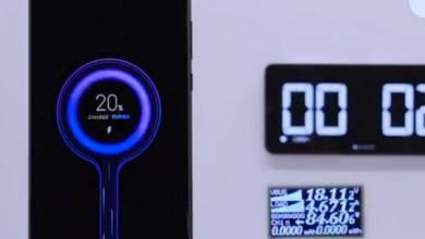 17 perc alatt tölt fel egy nagy akkut a Xiaomi 100 wattos gyorstöltője