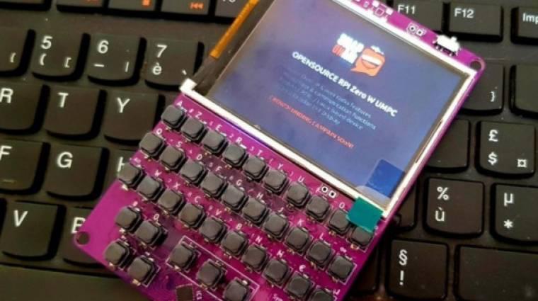 Érdekes PC-t csináltak a Raspberry Pi Zero W-ből kép