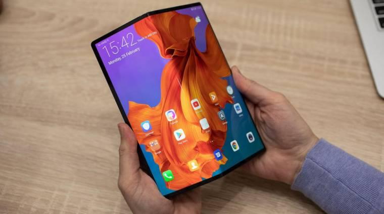 Olcsóbb összehajtható mobilokat is hozhat a Huawei kép