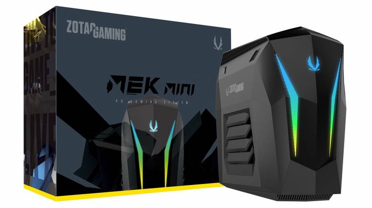 Kompakt gamer-PC lett a Zotac MEK Mini kép