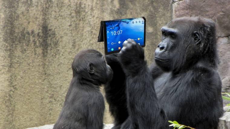 Hajtogatható mobilokhoz jön a hajtogatható Gorilla Glass kép
