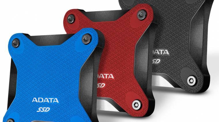 Strapabíró és hordozható az ADATA új külső SSD-je kép