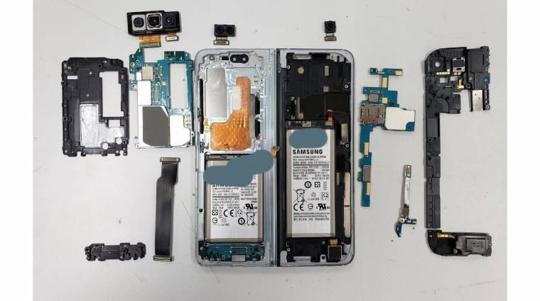 Így néz ki belülről a Samsung összehajtható mobilja kép